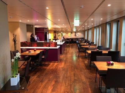 Berlin Marriott executive lounge