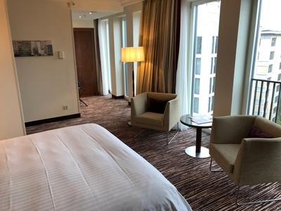 Berlin Marriott review bedroom