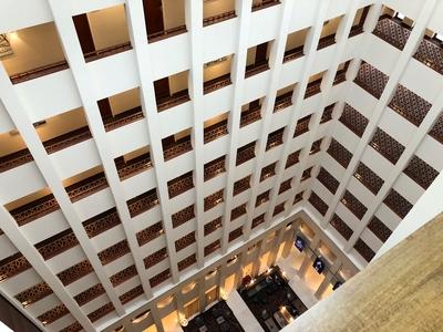 Berlin Marriott lobby review
