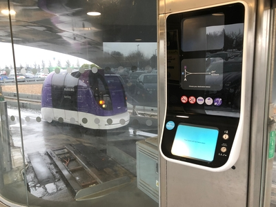 How to get from Thistle Heathrow to Terminal 5 using the pods