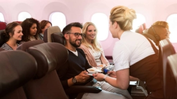 Review Virgin Atlantic Economy Delight seat