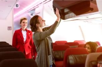 Virgin Atlantic economy light