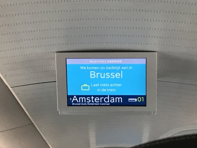 Eurostar from London to Amsterdam