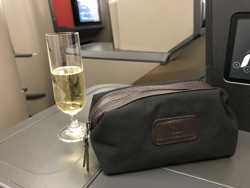 Review South African Airways A330 London Johannesburg business class