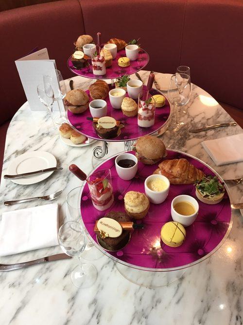 Virgin Atlantic afternoon tea Heathrow Clubhouse