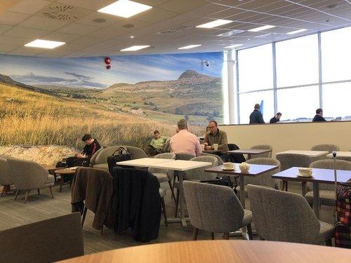 White Rose Suite lounge Leeds Bradford Airport