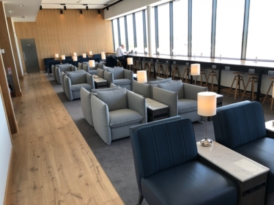 British Airways Galleries lounge Aberdeen Airport review