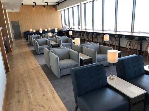 British Airways Galleries lounge Aberdeen Airport review