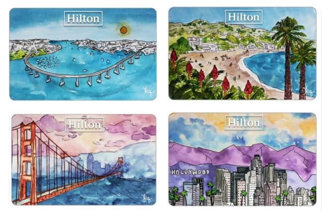 Hilton California road trip