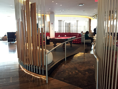 review of the Virgin Atlantic Clubhouse at New York JFK