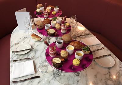 Virgin Atlantic Eric Lanlard Cake Boy afternoon tea