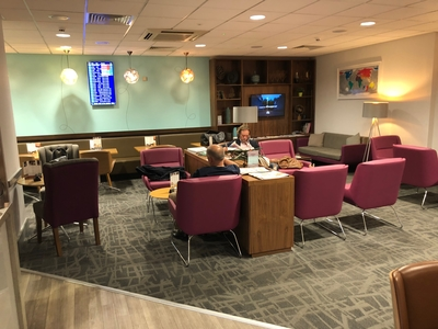 Review Escape Plus Lounge Manchester Airport Terminal 2
