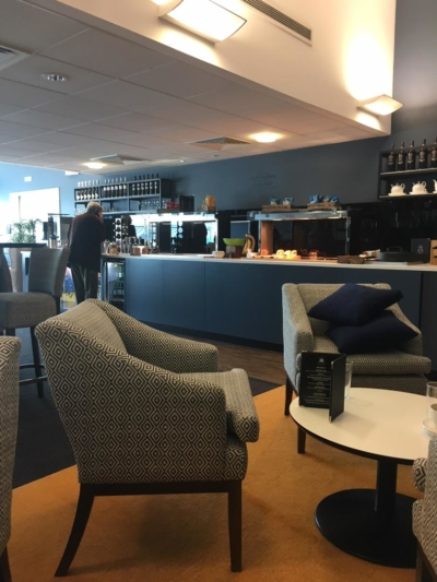 Priority Lounge Southampton Airport review
