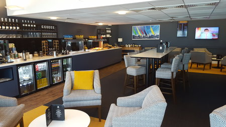 Spitfire Lounge Southampton Airport review