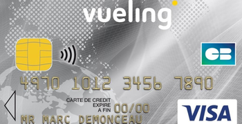 Vueling credit card in France