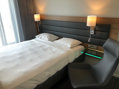 MOXY London Excel hotel review