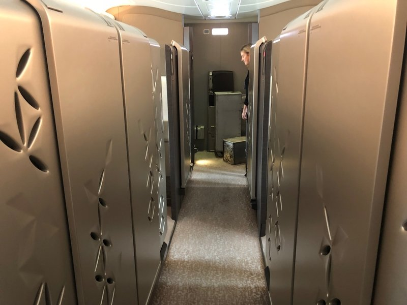 Singapore Airlines A380 First Class suite review