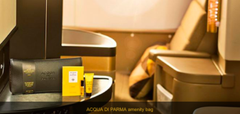 Etihad new Acqua di Parma amenity kits