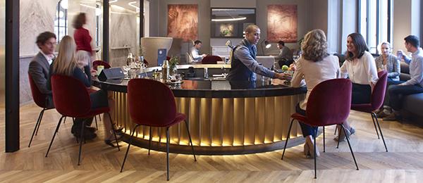 Eurostar London lounge cocktail bar opening