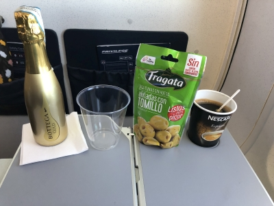 Vueling Excellence business class review