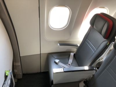 Review TAP Portugal A319 short haul business class