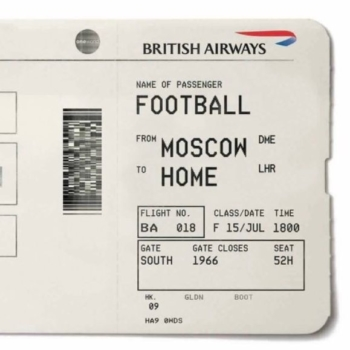 British Airways £66 World Cup ticket discount