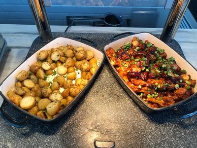 Plaza Premium Lounge Heathrow Terminal 5 food review
