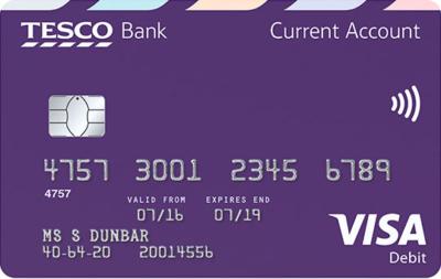 Tesco Bank debit card earn Clubcard points