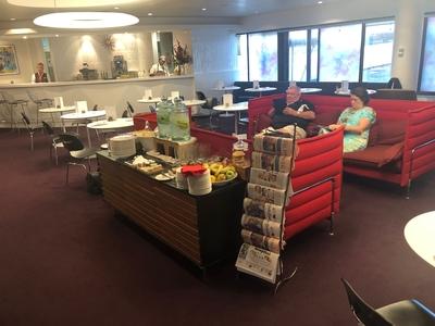 Virgin Atlantic Heathrow arrivals lounge review