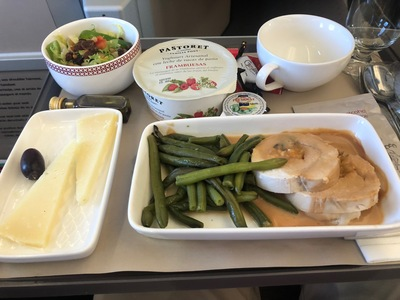 Iberia A350 business class review