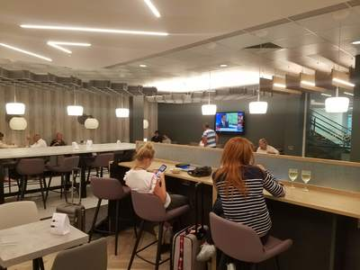 Aspire Lounge Liverpool Airport review