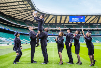 British Airways announces major Twickenham sponsorship