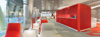 Review Iberia Velazquez lounge Madrid Airport Terminal 4S
