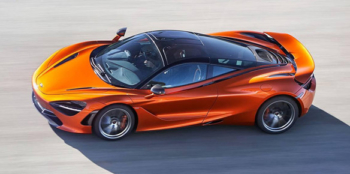 Hilton Honors Auctions McLaren track day