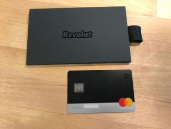 Revolut metal card review