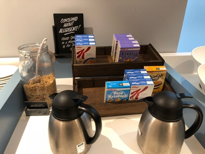 Travelodge London City breakfast review