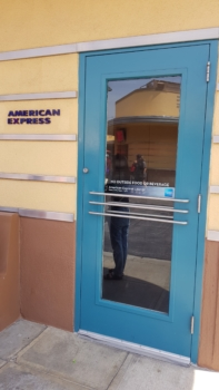 Review of the American Express Lounge at Universal Studios Hollywood
