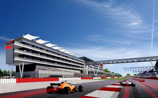 Hilton hotel Silverstone motor racing circuit