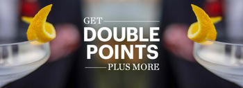 IHG Double Points promotion