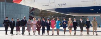 British Airways heritage uniforms