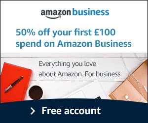Amazon Business half price discount