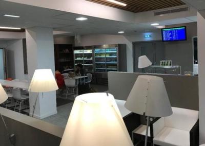 New British Airways lounge Bordeaux