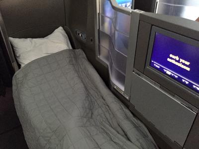 BA Club World flight London Heathrow to Kuala Lumpur