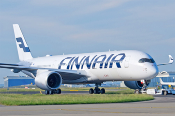 Finnair launches environmentally friendly amenity kits