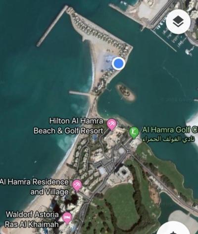 Ritz Carlton Al Hamra Beach Ras Al Khaimah location