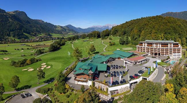 Grand Tirolia Hotel Hilton Curio Collection leaving