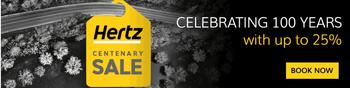 Hertz Centenary sale