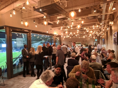Amex lounge at a Brighton & Hove Albion FC Premier League game