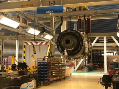 KLM Engine Services tour
