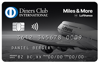 New Lufthansa Miles & More UK charge card Diners Club